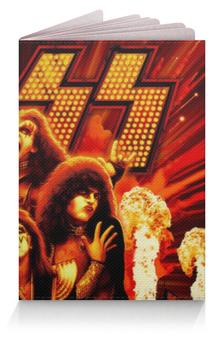 """Обложка для паспорта """"Кисс (Kiss)"""" - кисс"""