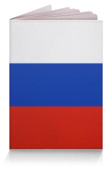"""Обложка для паспорта """"Я - Русский!"""" - русский, патриот, россия"""