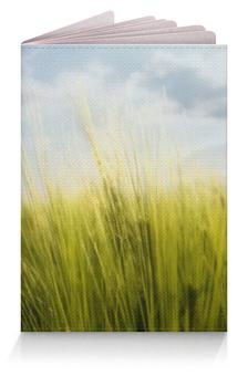 """Обложка для паспорта """"The Field"""" - лето, жизнь, солнце, трава, поле"""