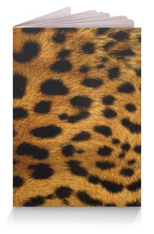 """Обложка для паспорта """"Леопард"""" - хищник, leopard, большая кошка"""