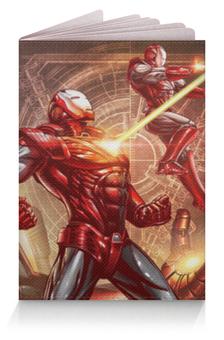 """Обложка для паспорта """"Железный человек"""" - комиксы, марвел, iron man, tony stark, тони старк"""
