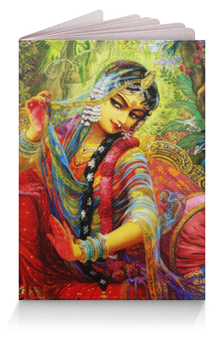 "Обложка для паспорта ""Радха и Кришна"" - кришна и радха, радха кришна, кришна, радха, hare krishna"