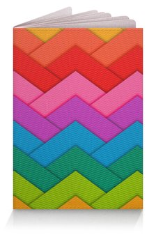 """Обложка для паспорта """"Papercraft style"""" - полосы, абстракция, геометрия, линии, papercraft"""