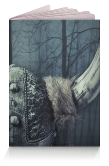 """Обложка для паспорта """"Путь воина"""" - путь воина, история, викинги"""