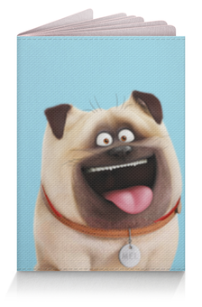 """Обложка для паспорта """"Мэл (Mel)"""" - тайная жизнь домашних животных, the secret life of pets, mel, мэл"""