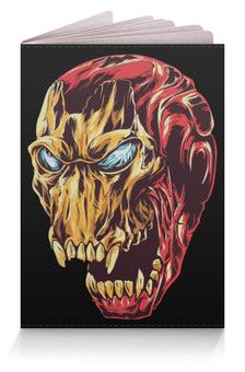 """Обложка для паспорта """"Ironman / Железный человек"""" - комиксы, marvel, мстители, avengers, железный человек"""