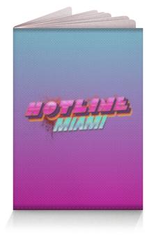 """Обложка для паспорта """"Hotline Miami """" - hotline miami, хотлайн маями, горячая линия маями"""