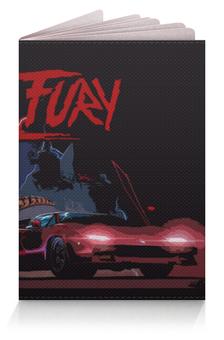 """Обложка для паспорта """"Kung Fury"""" - fury, kung fury, kung"""