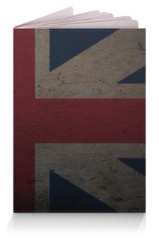 """Обложка для паспорта """"Британский Флаг"""" - англия, great britain, британский флаг, union jack"""