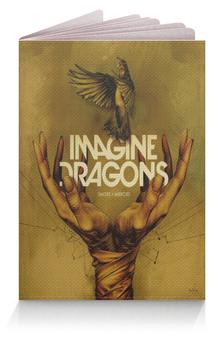 """Обложка для паспорта """"Imagine Dragons"""" - музыка, рок, группа, рисунок"""