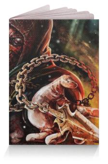 """Обложка для паспорта """"Скорпион (Мортал Комбат)"""" - скорпион, смертельная битва, mk"""