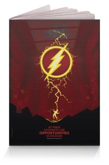 """Обложка для паспорта """"Flash/Флэш"""" - comics, dc comics, flash, флэш"""