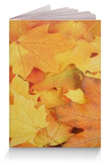 """Обложка для паспорта """"Осень"""" - красивая, ярко, свежо, приятная"""