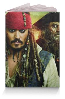 """Обложка для паспорта """"Пираты Карибского Моря"""" - джонни депп, джек воробей"""