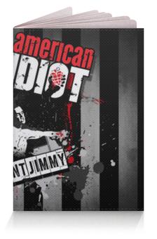 """Обложка для паспорта """"Green Day"""" - american idiot"""