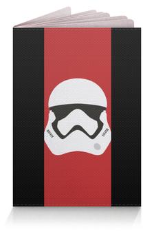 """Обложка для паспорта """"Star Wars stormrooper/Звездные Войны Штурмовик"""" - арт, звездные войны, starwars, дарт вейдер, r2d2"""