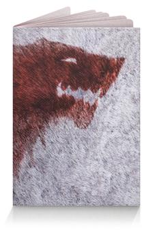 """Обложка для паспорта """"Лютоволк (Старки)"""" - игра престолов, зима близко"""