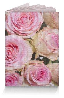 """Обложка для паспорта """"обложка для паспорта """" - цветы, обложка"""