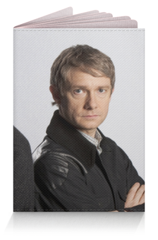"""Обложка для паспорта """"Шерлок"""" - сериал, шерлок, ватсон, детективы"""