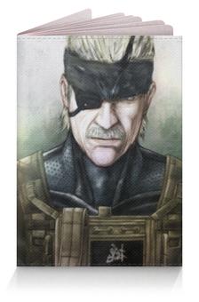 """Обложка для паспорта """"Big Boss (Metal Gear Solid)"""" - big boss, биг босс"""