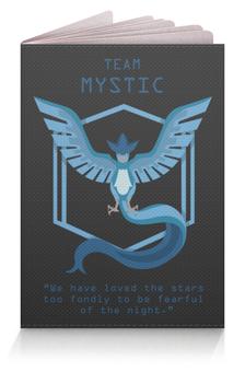 """Обложка для паспорта """"Team Mystic"""" - покемон, мистик, pokemon, mystic, мультфильм"""