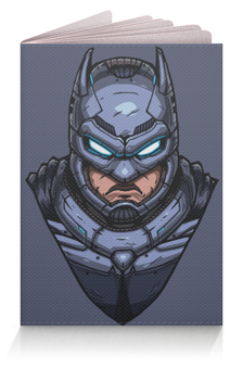 """Обложка для паспорта """"Armored Batman / Бэтмен в Броне"""" - арт, batman, бэтмен, armored batman, бэтмен в броне"""