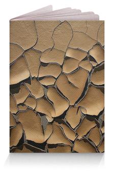 """Обложка для паспорта """"Пустынный"""" - пустыня, засуха, трещина"""