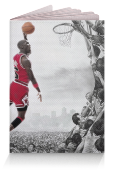 """Обложка для паспорта """"Майкл Джордан"""" - michael jordan"""