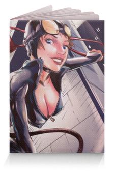"""Обложка для паспорта """"Женщина-кошка (Catwoman)"""" - catwoman"""