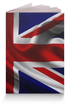 """Обложка для паспорта """"Британский Флаг"""" - великобритания, britain"""
