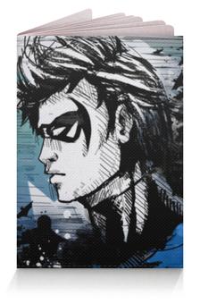 """Обложка для паспорта """"Найтвинг (Nightwing)"""" - найтвинг"""
