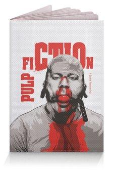 """Обложка для паспорта """"Pulp Fiction (Брюс Уиллис)"""" - криминальное чтиво, брюс уиллис, тарантино, кино, pulp fiction"""