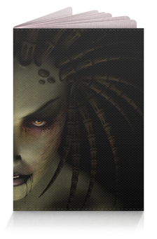 """Обложка для паспорта """"Сара Керриган (Старкрафт)"""" - starcraft"""