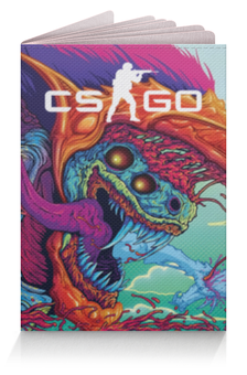 """Обложка для паспорта """"CS GO   """" - cs go, кс го, игры"""