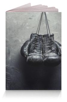 """Обложка для паспорта """"Боксерские перчатки"""" - бокс, police box, боксеру"""