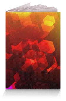 """Обложка для паспорта """"Шестиугольники"""" - узор, оригинальный, цветной, геометрический, многоугольники"""