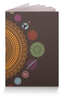 """Обложка для паспорта """"Солнечная система, односторонняя"""" - space, космос, планеты, planets, solarsystem"""