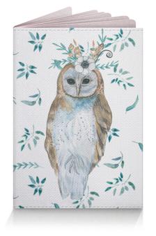 """Обложка для паспорта """"Весенний день"""" - совы, сова, птицы, бохостиль, ботаника"""