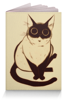 "Обложка для паспорта ""Котяра"" - кот, кошки, котики, котяра"