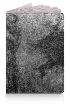 """Обложка для паспорта """"Биомеханика"""" - арт, ужас, тёмный, биомеханика"""