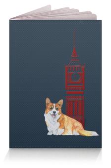 """Обложка для паспорта """"Моя любимая собака"""" - собака, рыжий, новыйгод, корги, вельшкорги"""