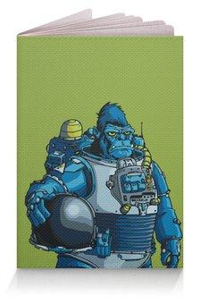"""Обложка для паспорта """"Космическая горилла"""" - юмор, космос, обезьяна, горилла, космические войска"""