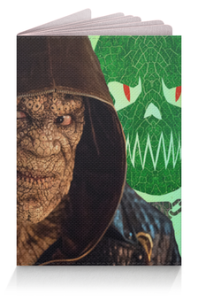 """Обложка для паспорта """"Отряд самоубийц"""" - арт, рисунок, dc комиксы, убийцакрок"""