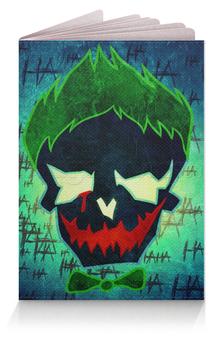 """Обложка для паспорта """"Клоун-король"""" - comics, joker, dc, отряд самоубийц, джокер"""