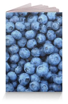 """Обложка для паспорта """"Черника"""" - ягоды, черника, blueberyy"""