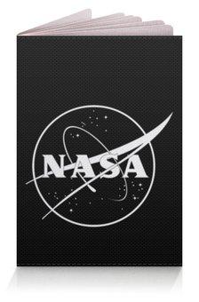 """Обложка для паспорта """"NASA """" - космос, бренд, nasa, cosmos, астрономия"""