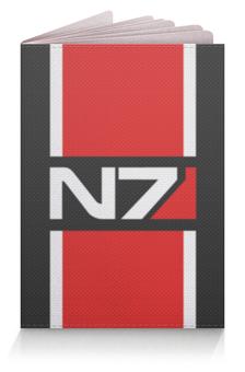 """Обложка для паспорта """"Mass Effect"""" - mass effect, n7, масс эффект"""