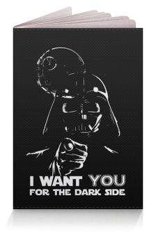 "Обложка для паспорта ""Dark side"" - star wars, dark side, darth vader, anakin skywalker, may the force be with you"