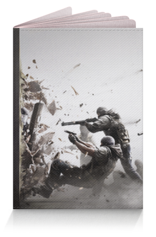 """Обложка для паспорта """"Осада Спецназа (Rainbow Six)"""" - армия, war, солдат"""
