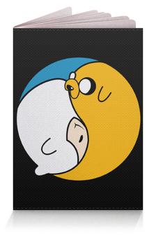 """Обложка для паспорта """"Adventure Time / Время Приключений"""" - время приключений, adventure time, финн, джейк"""